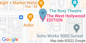 Google Map for The Roof at EDITION