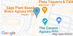 Google Map for Sage Plant Based Bistro & Brewery - Agoura Hills