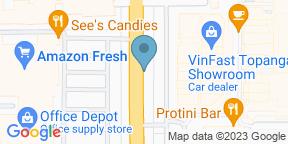 Google Map for Larsen's Steakhouse - Woodland Hills