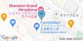 Google Map for Bridge Sheraton Hotel Hiroshima