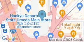 Google Map for Bulgari Il Cafe Osaka