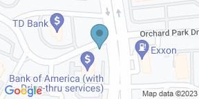 Google Map for Hilton Greenville