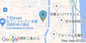 プレミアム 听 三条木屋町店のGoogle マップ