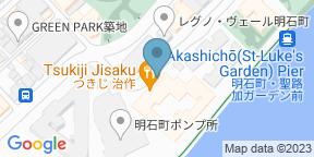 Google Map for Tsukiji Jisaku