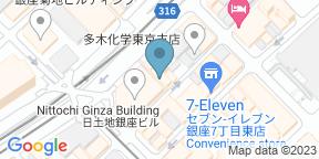 Google Map for Kouki-an Ginza