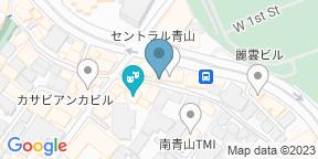 天ぷら 天青のGoogle マップ