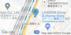 Google Map for YAKINIKU A FIVE Toku Ginza Hachome