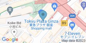 銀座 下鴨茶寮 東のはなれのGoogle マップ