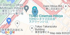 サローネ トウキョウのGoogle マップ
