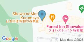 Google Map for Showa-no-mori Kurumaya  - Forest Inn Showakan