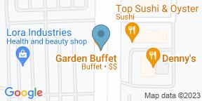 Google Map for Garden Buffet - South Point Casino