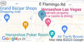 Google Map for Burger Brasserie - Bally's Las Vegas Hotel & Casino