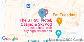 Google Map for PT's Wings & Sports - The STRAT Hotel & Casino