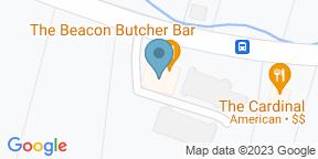 Google Map for The BEACON Butcher Bar