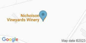 Nicholson VineyardsのGoogle マップ