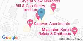 Google Map for Gastronomy Project at Bill & Coo Suites And Lounge