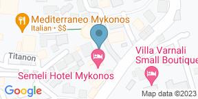Google Map for Thioni Restaurant