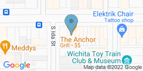 Google Map for The Anchor Wichita