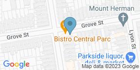 Google Map for Bistro Central Parc