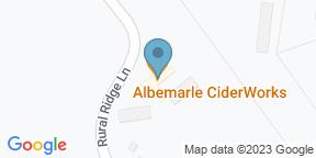 Google Map for Albemarle CiderWorks