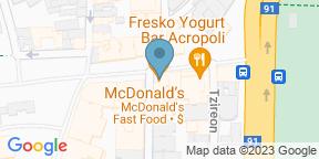 Google Map for Sense Restaurant