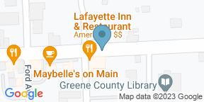 Google Map for Lafayette Inn & Restaurant