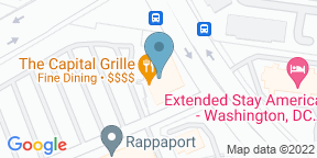 Google Map for The Capital Grille - Fairfax