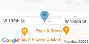 Google Map for Rock & Brews Overland Park