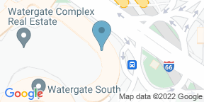 Google Map for Top of the Gate at The Watergate Hotel