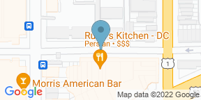 Google Map for Rumi's Kitchen - DC