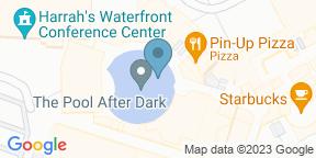 Google Map for Pool After Dark - Harrah's Atlantic City