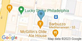 Google Map for BRU Craft & Wurst