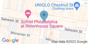 Google Map for Chez Colette - Sofitel Philadelphia