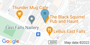 Google Map for The Black Squirrel