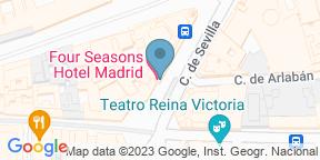 El Patio at Four Seasons Hotel MadridのGoogle マップ