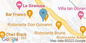 Google Map for Don Giovanni