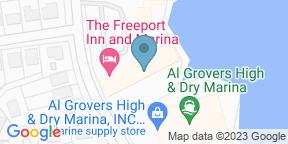 Google Map for Margaritas Cafe - Freeport