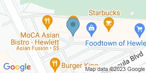 Google Map for MoCA Asian Bistro - Hewlett