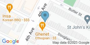 Google Map for The Douglass