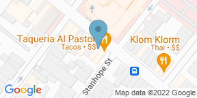 Google Map for Triangle Grill