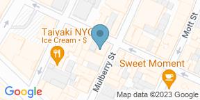 Google Map for Casa Bella Restaurant