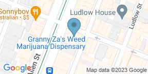 Google Map for Tsismis NYC
