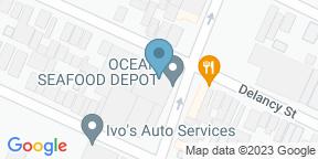 Google Map for Ocean Oyster Bar
