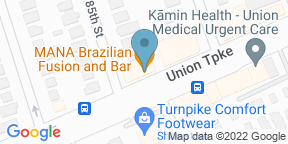Google Map for Brazilian Grill