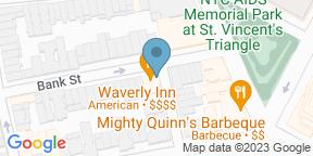 Google Map for The Waverly Inn