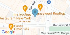 Google Map for Gansevoort Rooftop