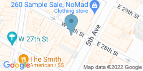 Google Map for Tramonti Fifth Ave