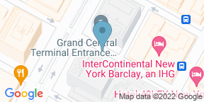 Google Map for The Parlour @ InterContinental New York Barclay