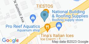 Google Map for Blue Goose