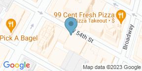 Google Map for Feinstein's/54 Below